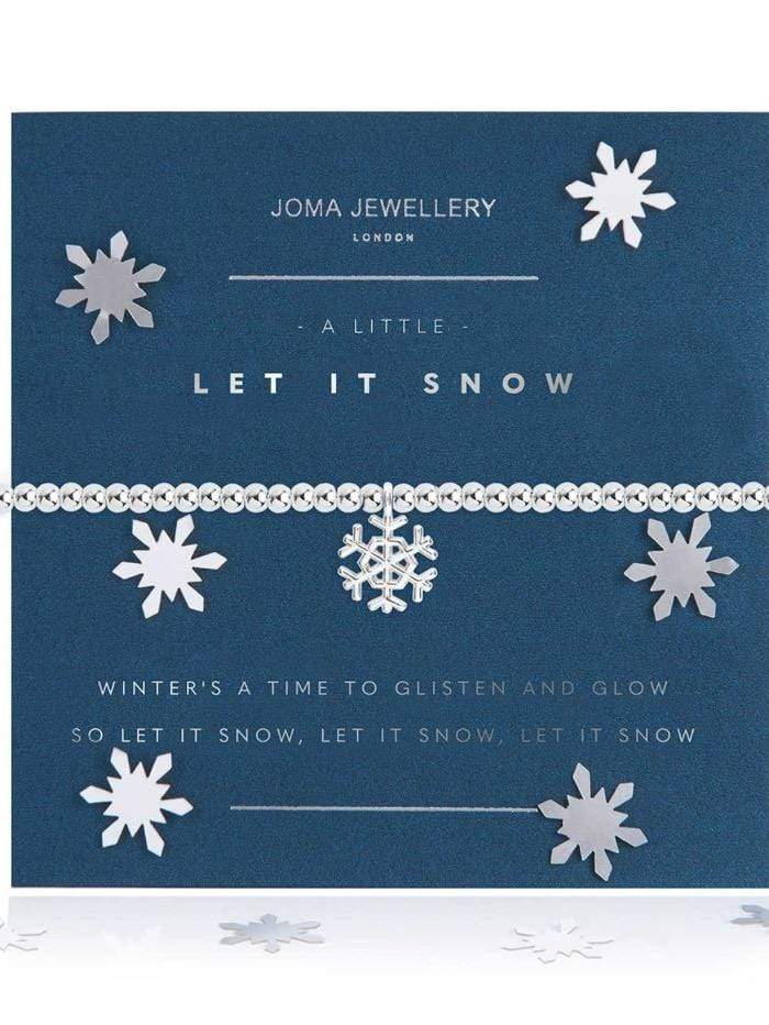 Joma Jewellery Jewellery Joma Bracelet A Little Let It Snow Bracelet 3785 izzi-of-baslow