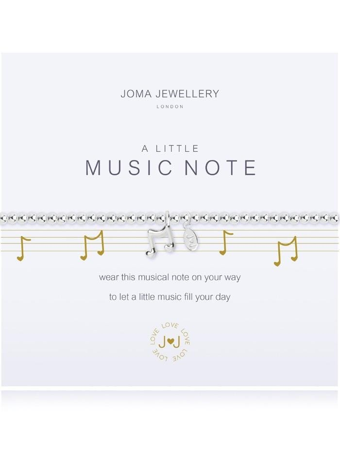 Joma Jewellery Jewellery Joma Bracelet A Little Music Note Bracelet 2271 izzi-of-baslow