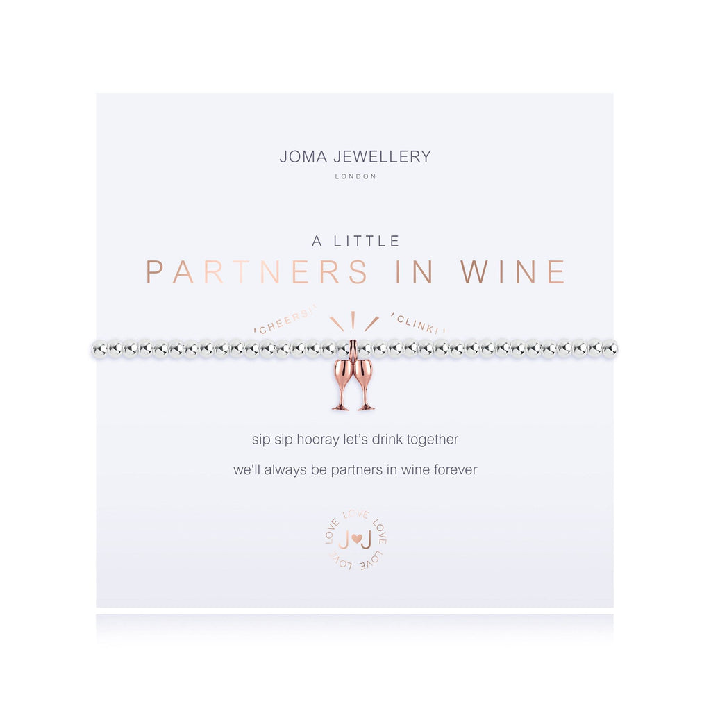 Joma Jewellery Jewellery Joma Bracelet A Little Partners In Wine Bracelet 3212 izzi-of-baslow