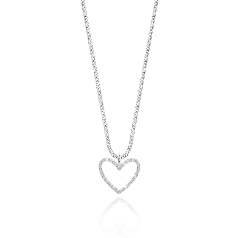 Joma Jewellery Jewellery Joma Necklace 3285  Evie Heart izzi-of-baslow