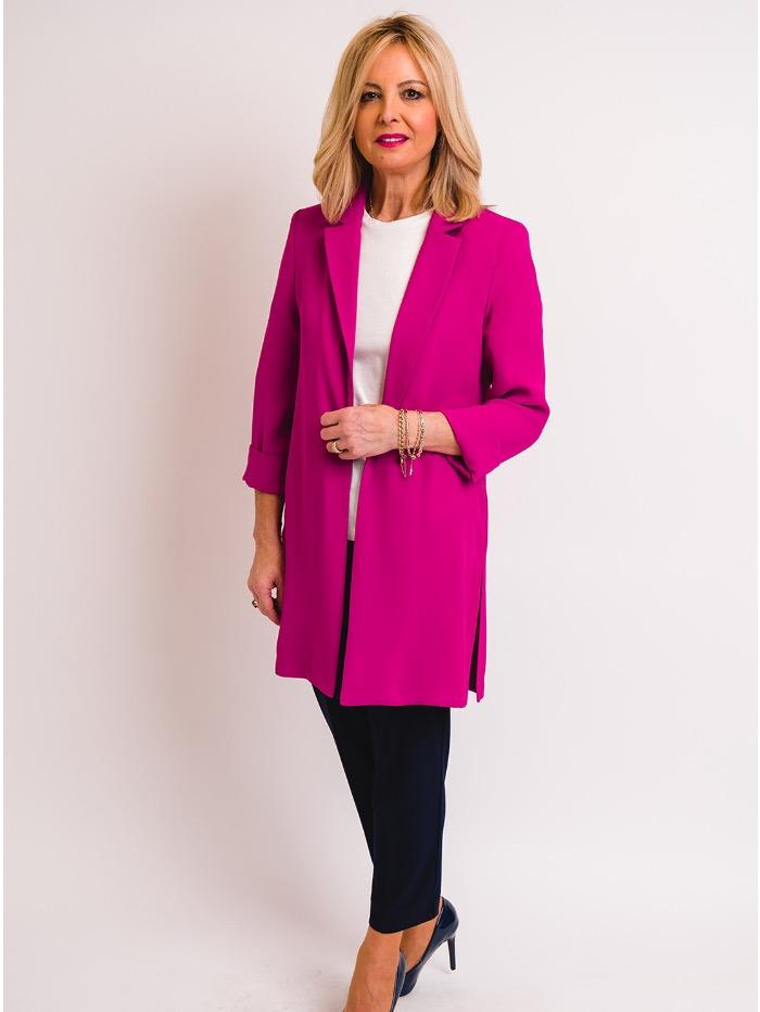 Joseph Ribkoff Coats and Jackets Joseph Ribkoff Azalea Long Blazer 211361 (A) izzi-of-baslow
