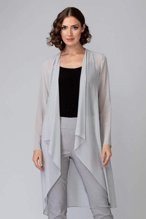 Joseph Ribkoff Coats & Jackets Joseph Ribkoff Grey Frost Cover Up 201217 izzi-of-baslow