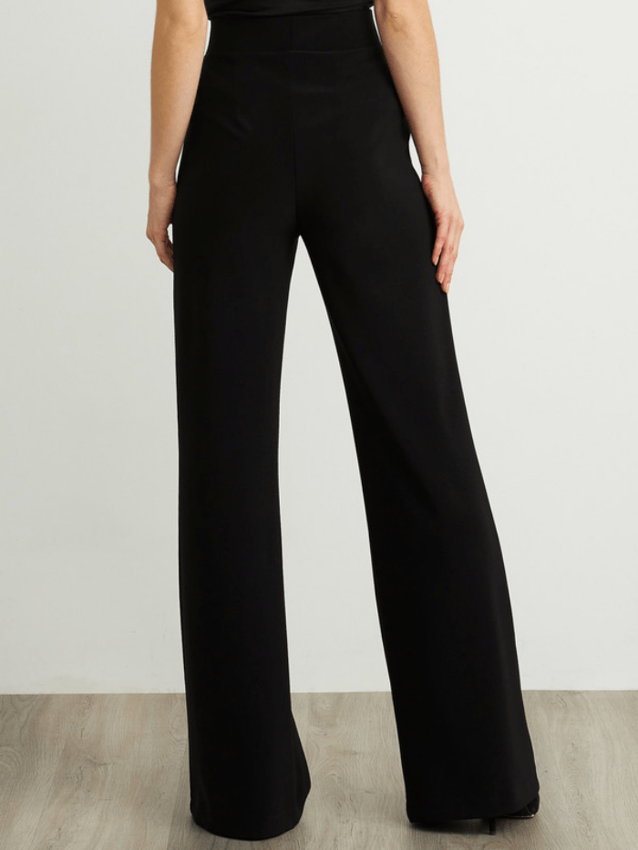 Joseph Ribkoff Trousers Joseph Ribkoff Black Flared Leg Trousers 211090 (A) izzi-of-baslow