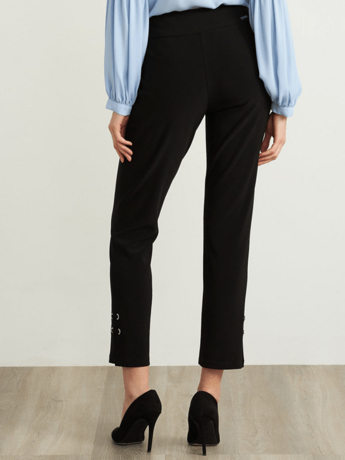 Joseph Ribkoff Trousers Joseph Ribkoff High Rise Black Capri Trousers 211117 (A) izzi-of-baslow