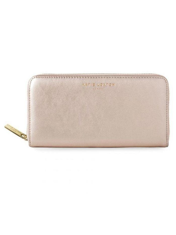 Katie Loxton Accessories One Size Katie Loxton Alexa Metallic Purse Rose Gold KLB506 izzi-of-baslow