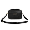 Katie Loxton Accessories One Size Katie Loxton Celine Faux Croc Black Cross Body Bag KLB899 izzi-of-baslow