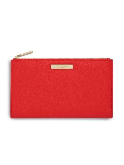 Katie Loxton Accessories One Size Katie Loxton Fold Out Purse Red KLB645 izzi-of-baslow