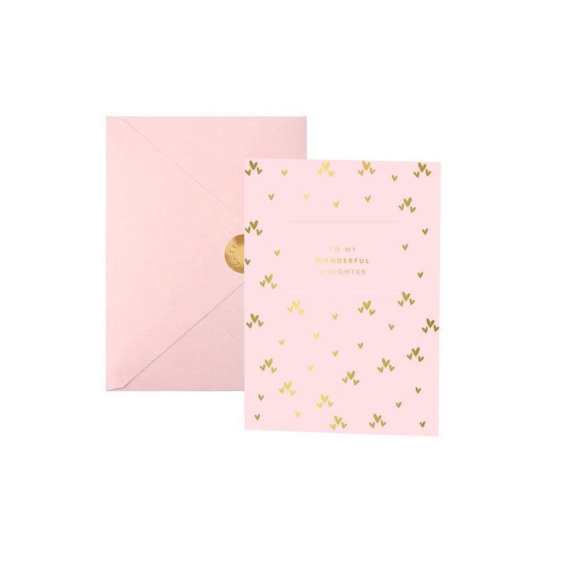 Katie Loxton Accessories One Size Katie Loxton Greetings Card To My Wonderful Daughter izzi-of-baslow