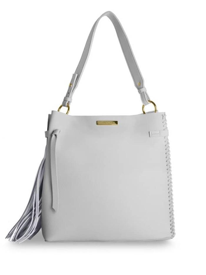 Katie Loxton Accessories One Size Katie Loxton Pale Grey Bag KLB313 izzi-of-baslow