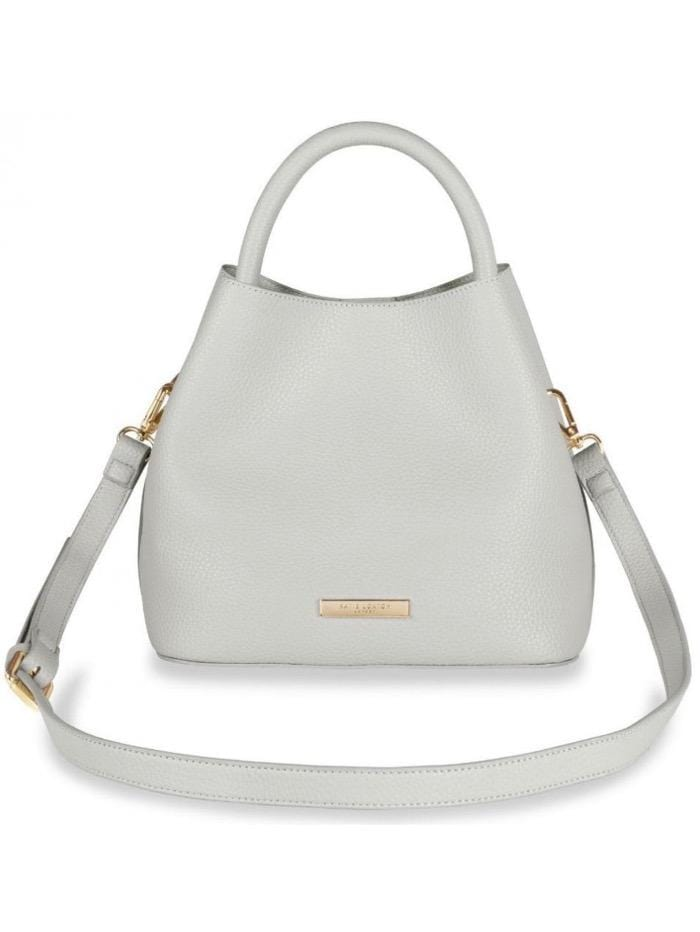 Katie Loxton Accessories One Size Katie Loxton Pale Grey Bag KLB541 izzi-of-baslow