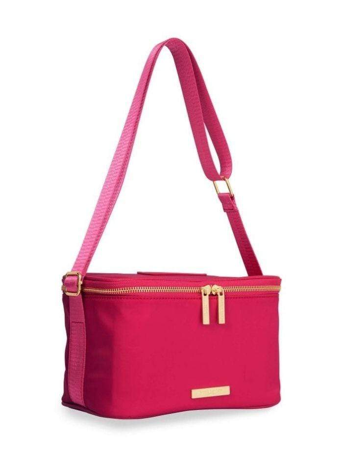 Katie Loxton Accessories One Size Katie Loxton Pink 'Live Laugh Lunch' Bag KLB731 izzi-of-baslow
