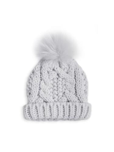 Katie Loxton Gifts Katie Loxton Baby Bubble Hat Grey BA0021 izzi-of-baslow