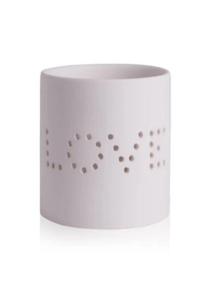Katie Loxton Gifts One Size Katie Loxton Ceramic Love Tea Light Holder KLC055 izzi-of-baslow
