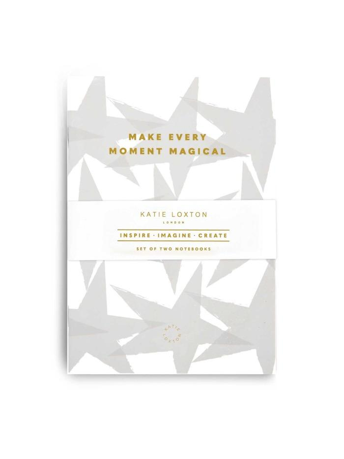 Katie Loxton Gifts One Size Katie Loxton Duo Pack Notebooks 'Make Every Moment Magical' KLST S izzi-of-baslow