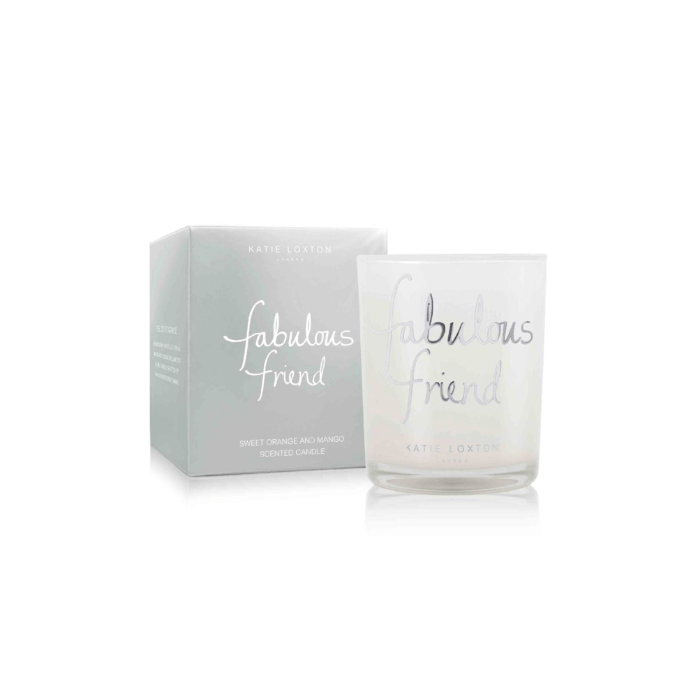 Katie Loxton Gifts One Size Katie Loxton Fabulous Friend Candle KLC064 izzi-of-baslow