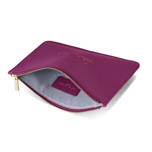 Katie Loxton Gifts One Size Katie Loxton Fabulous Friend Perfect Pouch in Cerise Pink KLB207 izzi-of-baslow
