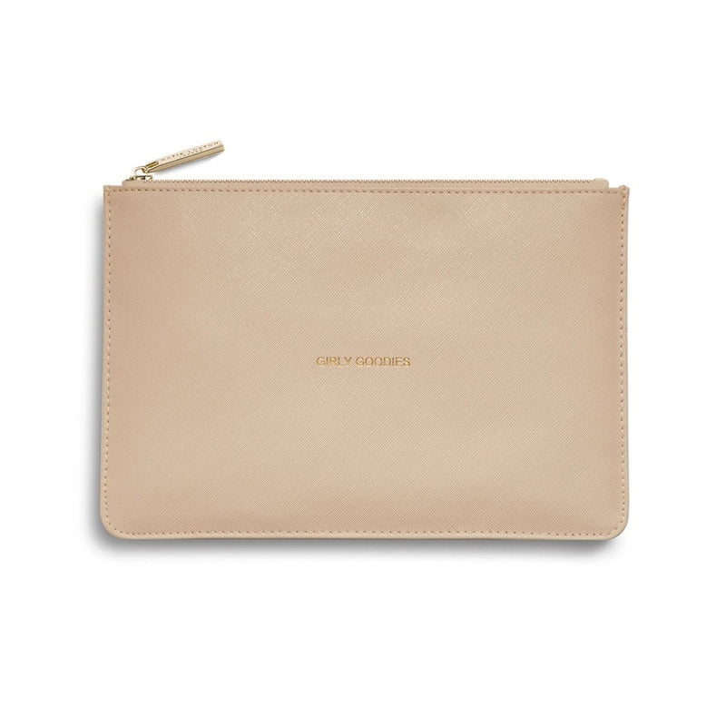 Katie Loxton Gifts One Size Katie Loxton Girly Goodies Perfect Pouch Blush Pink KLB002 izzi-of-baslow
