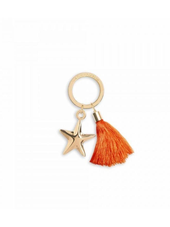 Katie Loxton Gifts One Size Katie Loxton Golden Treasure Key Ring KLB582 izzi-of-baslow