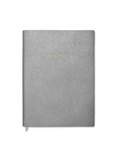 Katie Loxton Gifts One Size Katie Loxton Large Magical Moments Notebook Gunmetal Grey KLB104 izzi-of-baslow