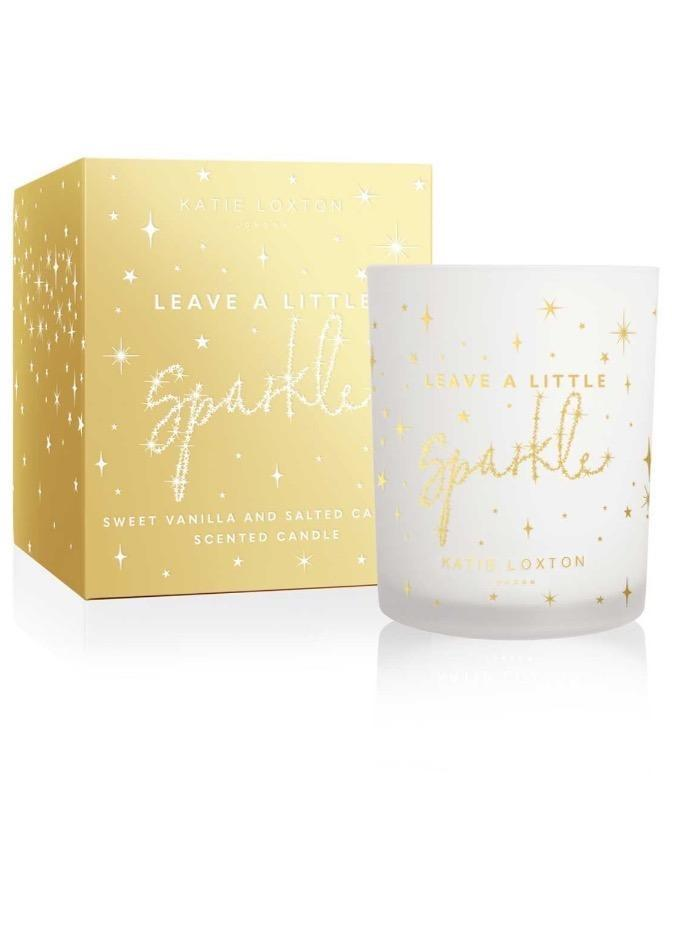 Katie Loxton Gifts One Size Katie Loxton Leave A Little Sparkle Candle KLC S izzi-of-baslow