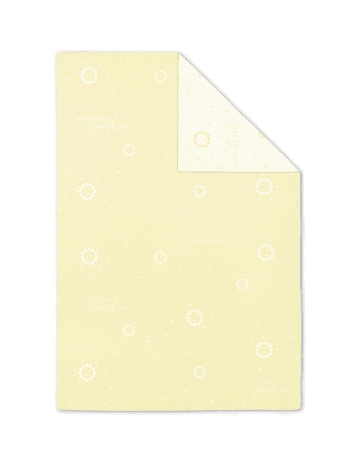 Katie Loxton Gifts One Size Katie Loxton 'My Little Sunshine' Baby Blanket Yellow BA0029 izzi-of-baslow
