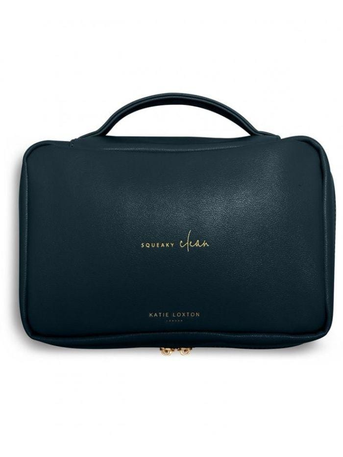 Katie Loxton Gifts One Size Katie Loxton Navy Squeeky Clean Quick Change Baby Organiser With Changing Mat KLB943 izzi-of-baslow