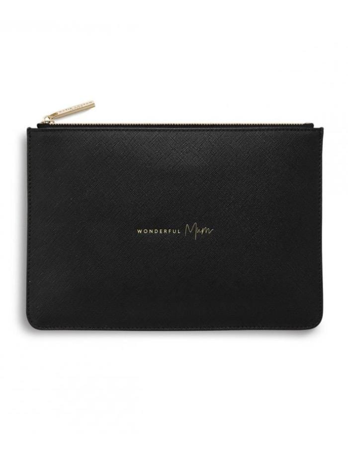 Katie Loxton Gifts One Size Katie Loxton Perfect Pouch Wonderful Mum KLB Black S izzi-of-baslow