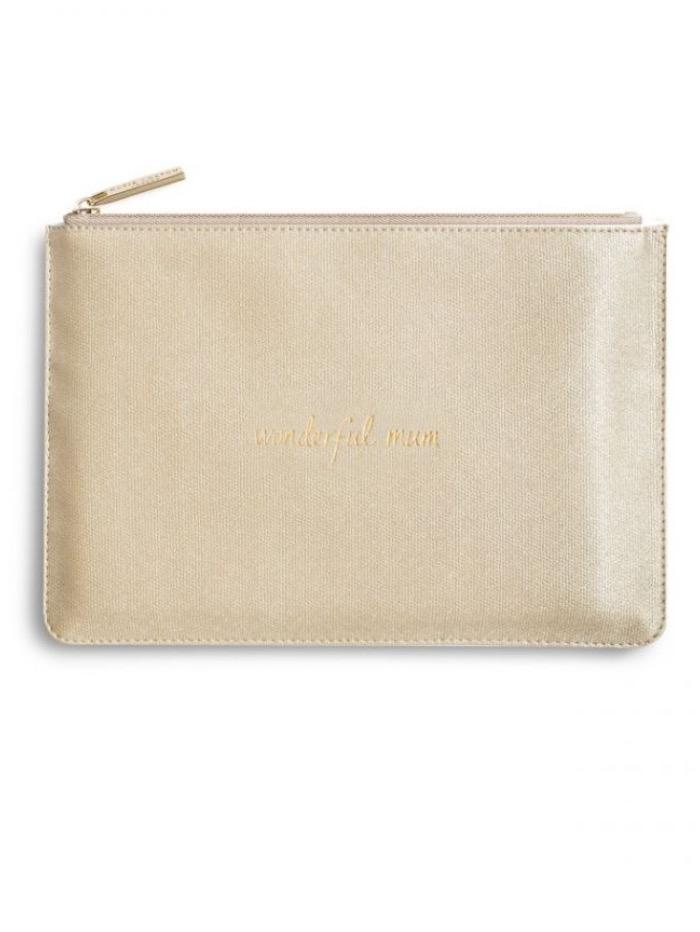 Katie Loxton Gifts One Size Katie Loxton Perfect Pouch Wonderful Mum KLB Gold S izzi-of-baslow