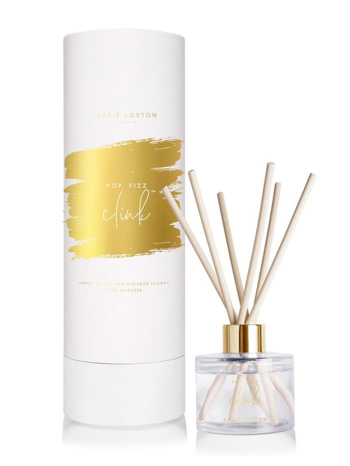 Katie Loxton Gifts One Size Katie Loxton Pop Fizz Clink Sentiment Reed Diffuser KLRD069 izzi-of-baslow
