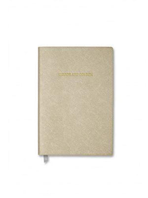 Katie Loxton Gifts One Size Katie Loxton Small Words Are Golden Notebook Metallic Gold KLB163 izzi-of-baslow