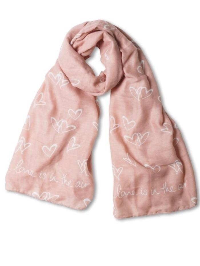 Katie Loxton Gifts One Size Katie Loxton Soft Scarf Love Is In The Air KLS izzi-of-baslow