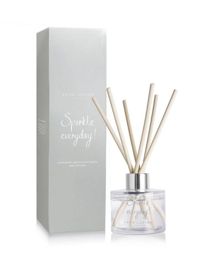 Katie Loxton Gifts One Size Katie Loxton 'Sparkle Everyday' Reed Diffuser Sugar Berry & Wild Mint Mojito KLRD049 izzi-of-baslow