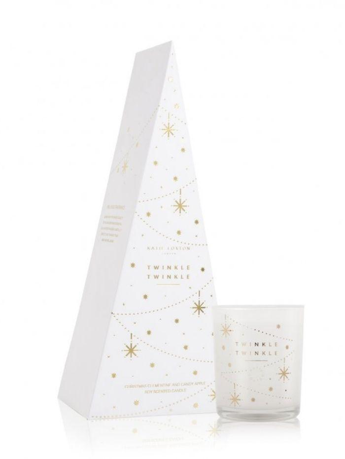 Katie Loxton Gifts One Size Katie Loxton Twinkle Christmas Clementine Candy Apple Scented Candle KLC103 izzi-of-baslow