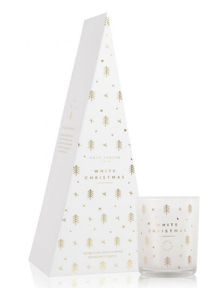 Katie Loxton Gifts One Size Katie Loxton White Christmas Nutmeg Spiced Pumpkin Scented Candle KLC100 izzi-of-baslow