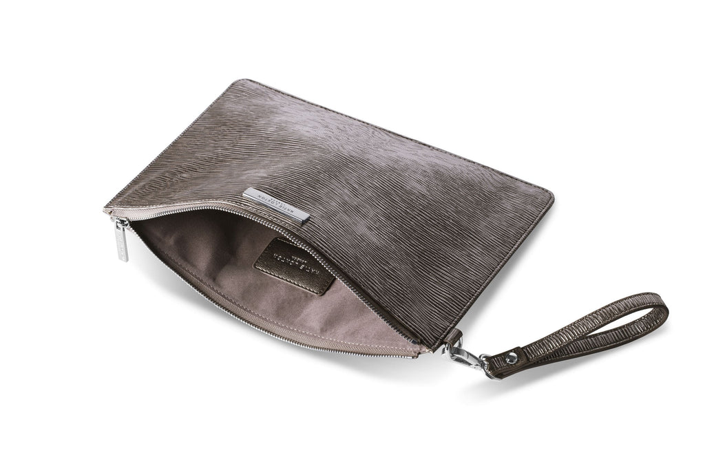 Katie Loxton Gifts One Size Katie Loxton Zara Metallic Mocha Large Clutch Bag KLB180 izzi-of-baslow