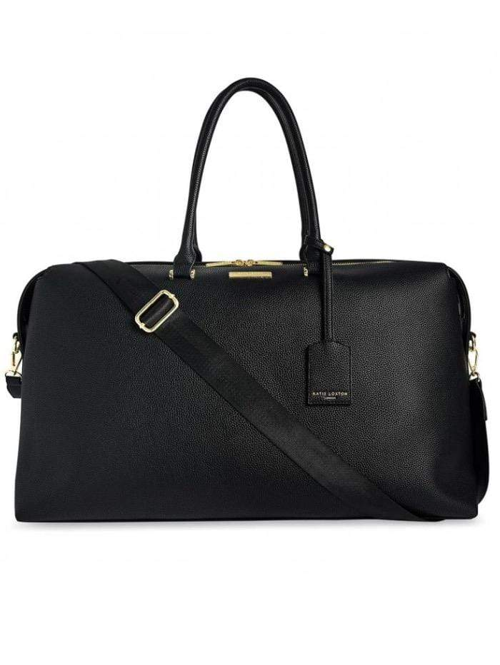 Katie Loxton Handbags One Size Katie Loxton Kensington Black Weekender Holdall  Bag KLB1238 izzi-of-baslow