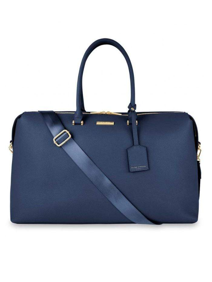 Katie Loxton Handbags One Size Katie Loxton Kensington Navy Weekend Holdall  Bag KLB1240 izzi-of-baslow