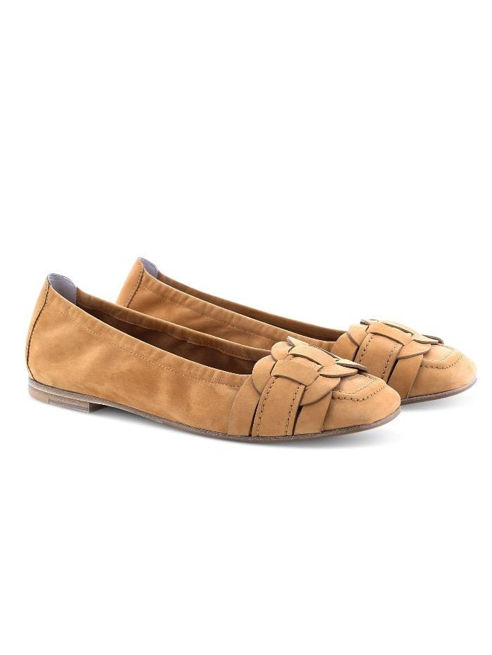 Kennel & Schmenger Shoes Kennel and Schmenger Caro Caramel Soft Nubuck Pump 51-12550-255 izzi-of-baslow