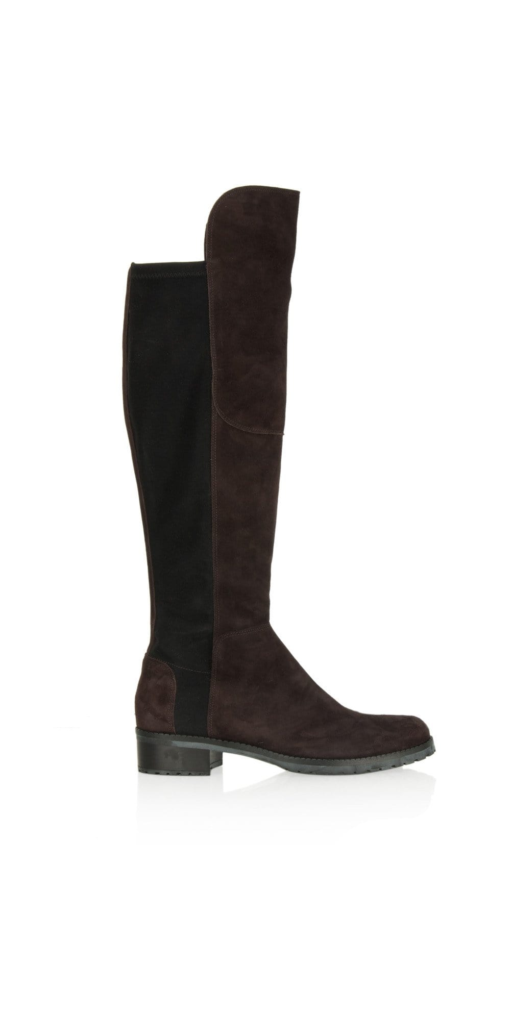 Kennel & Schmenger Shoes Kennel & Schmenger Blues Long Flat Boots in Mocca Suede 81-24160-502 izzi-of-baslow