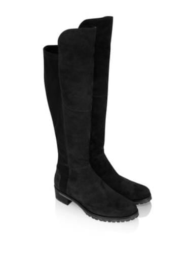 Kennel & Schmenger Shoes Kennel & Schmenger Blues Over The Knee Long Boots Black Suede izzi-of-baslow