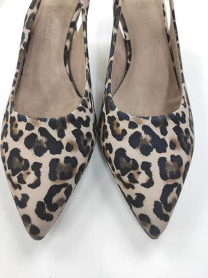 Kennel & Schmenger Shoes Kennel & Schmenger Enny Leopard Court Shoe Nude 31-64610-376 izzi-of-baslow
