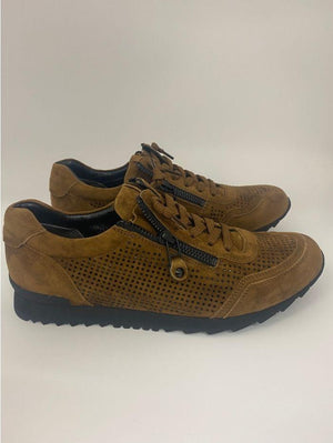 Kennel & Schmenger Shoes Kennel & Schmenger Hazel Suede Trainer with Swarovski Crystals 81-18300-609 izzi-of-baslow