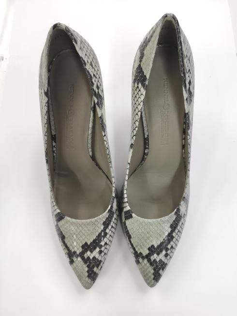 Kennel & Schmenger Shoes Kennel & Schmenger Miley Court Shoe Snake Green 31-83500-597 izzi-of-baslow