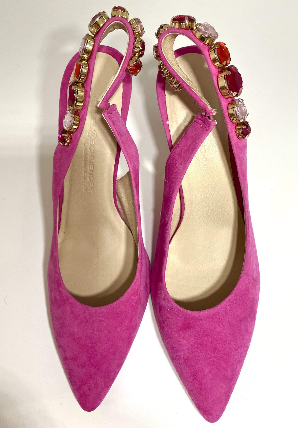 Kennel & Schmenger Shoes Kennel & Schmenger Miley Fuchsia Sling Back 91-83930-387 izzi-of-baslow