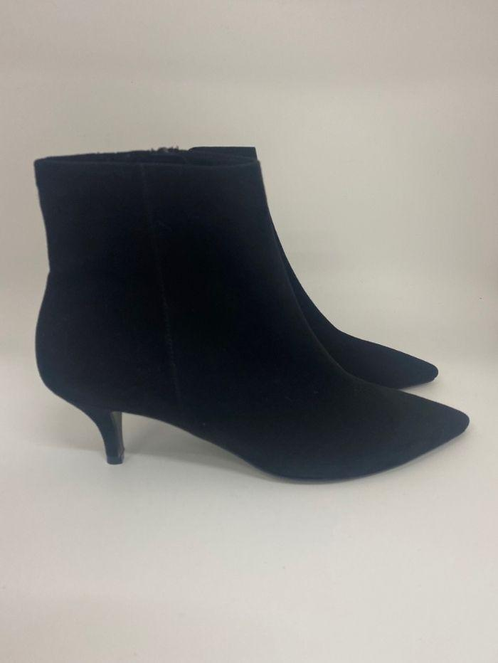 Kennel & Schmenger Shoes Kennel & Schmenger Selma Black Suede Ankle Boots izzi-of-baslow