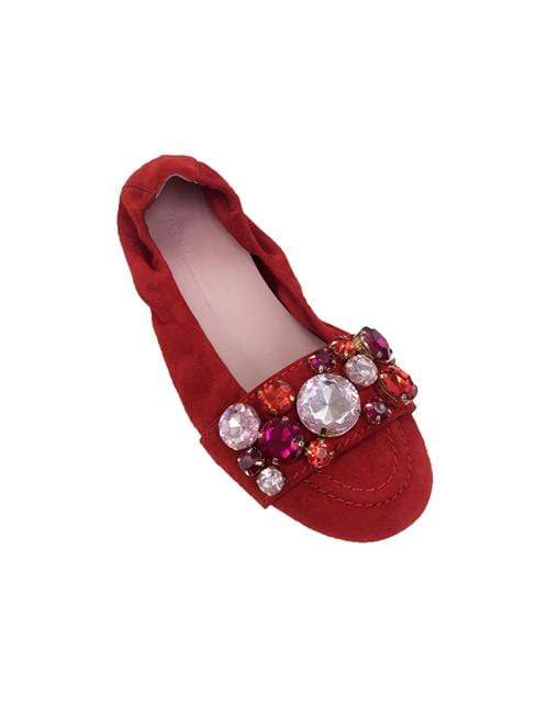 Kennel & Schmenger Shoes Kennel & Schmenger Shoes With Gems Cherry Ruby 91-10450-483 izzi-of-baslow