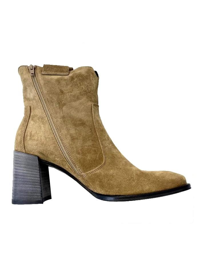 Kennel & Schmenger Shoes Kennel & Schmenger Suede Ankle Boots in Wood 41-79050-269 izzi-of-baslow