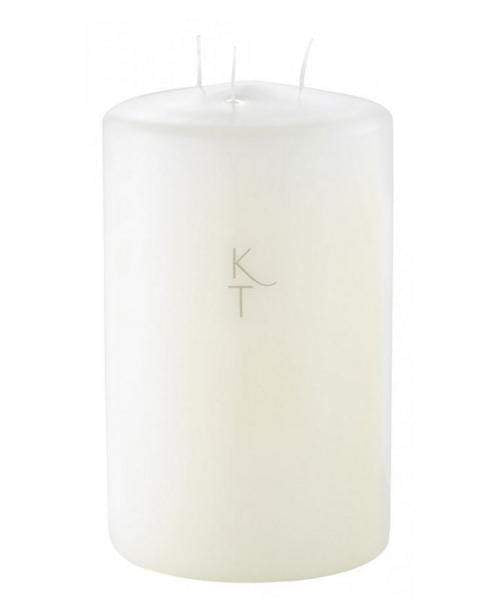 Kenneth Turner London Gifts One Size Kenneth Turner Ivory Multi Wick Chapel Candle 200mm x 120mm izzi-of-baslow