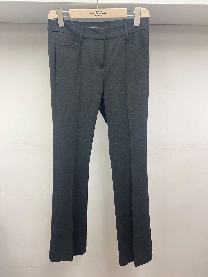 Luisa Cerano Trousers Luisa Cerano Black Grey Trousers 648017/2016 195 izzi-of-baslow