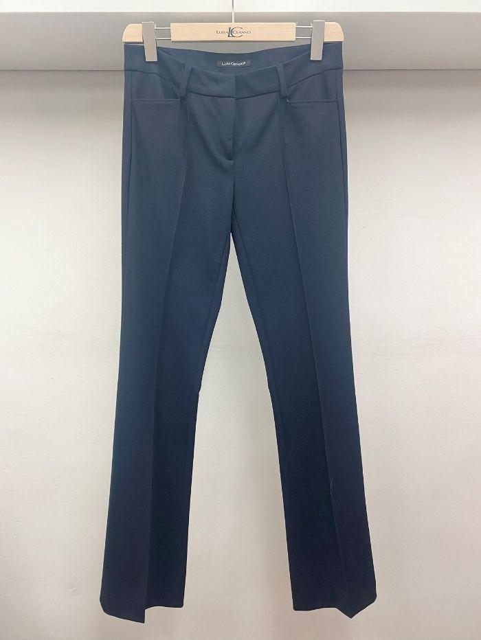 Luisa Cerano Trousers Luisa Cerano Navy Trousers 648017/2025 290 izzi-of-baslow